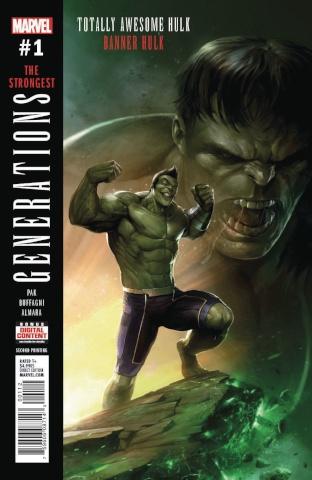 Generations: Banner Hulk & Totally Awesome Hulk #1 (2nd Printing)