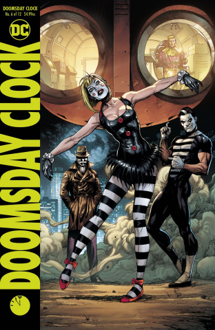 Doomsday Clock #6 (Variant Cover)