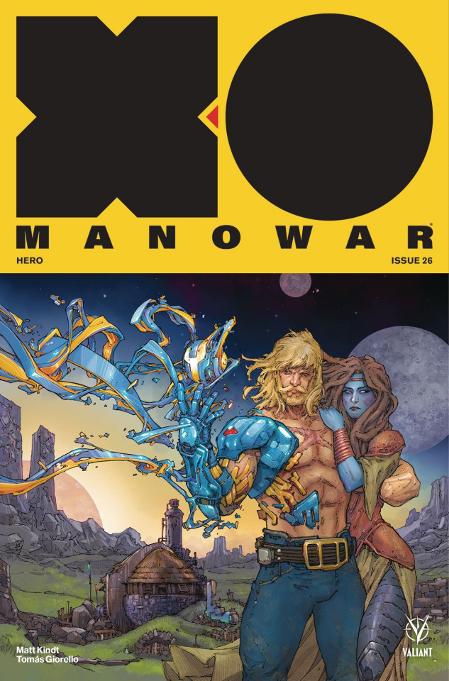 X-O Manowar #26 (Rocafort Cover)