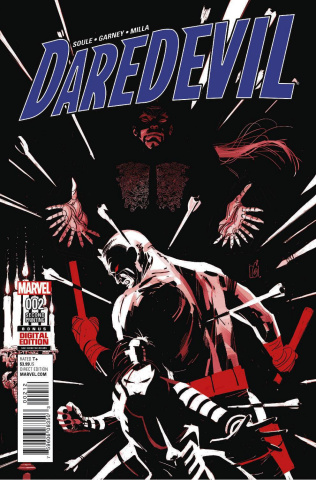 Daredevil #2 (Garney 2nd Printing)