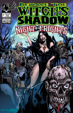 Beware the Witch's Shadow: Night Frights #1 (Calzada Cover)
