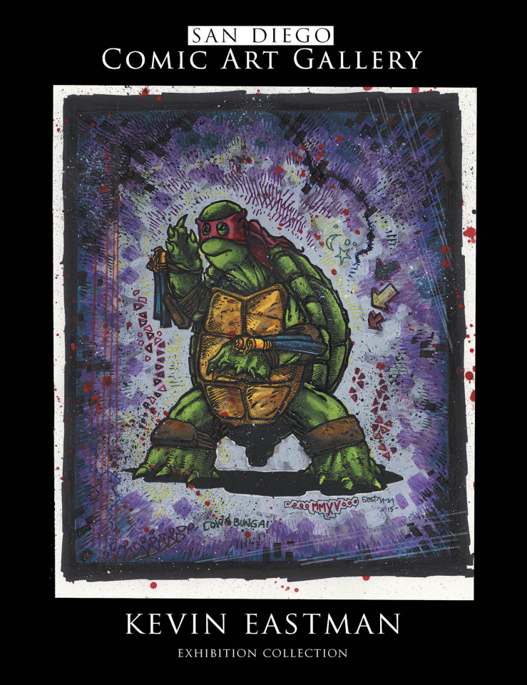 SDCC Comic Art Gallery: Kevin Eastman