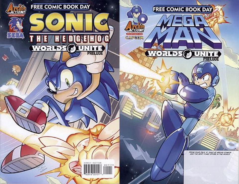 Sonic the Hedgehog / Mega Man: Worlds Unite Prelude