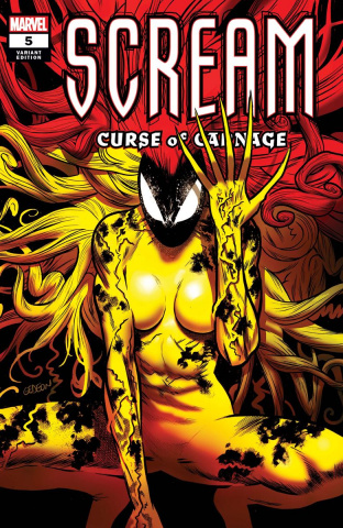 Scream: Curse of Carnage #5 (Gedeon Cover)