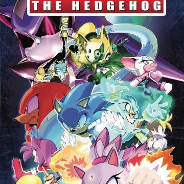 Sonic the Hedgehog #10 (Thomas Cover)