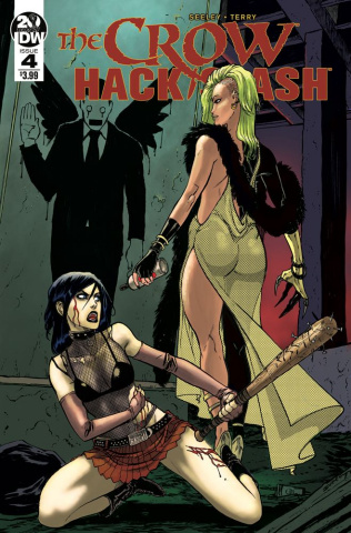 The Crow / Hack/Slash #4 (Seeley Cover)