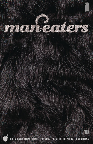 Man-Eaters #10 (Miternique Cover)