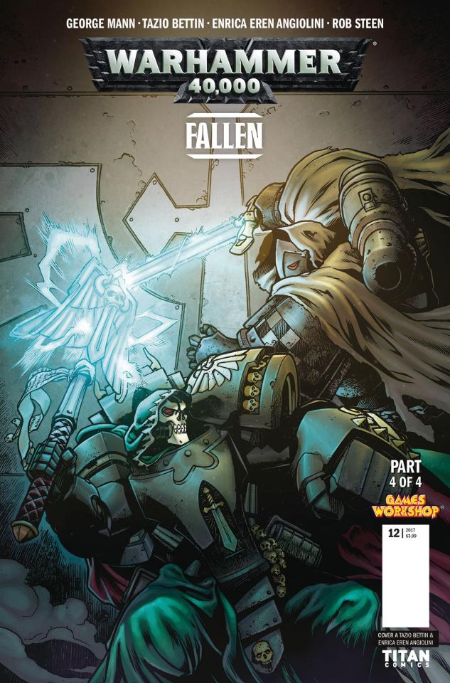 Warhammer 40,000: Fallen #4 (Bettin Cover)