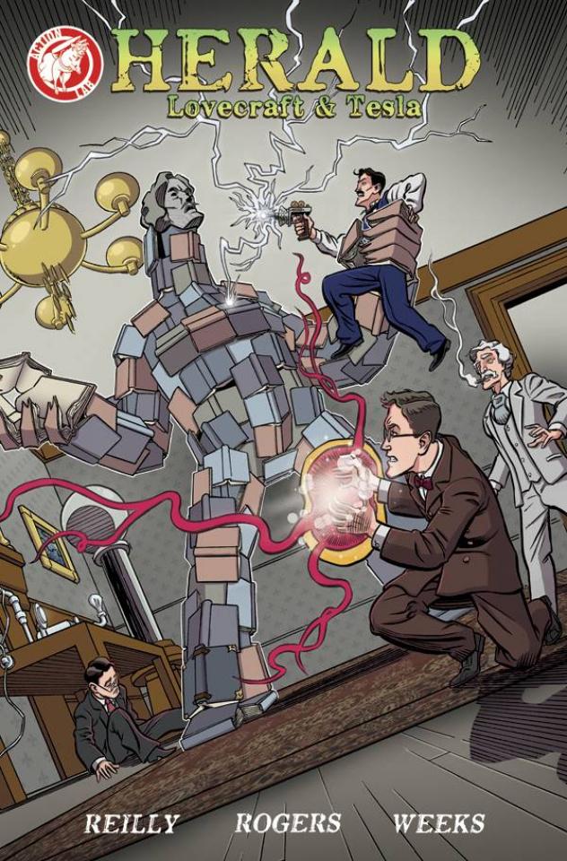 Herald: Lovecraft & Tesla #5