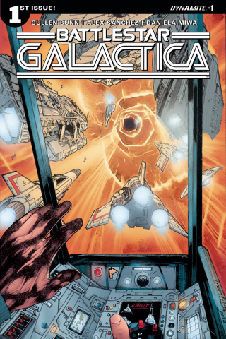 Battlestar Galactica #1 (Sanchez Cover)