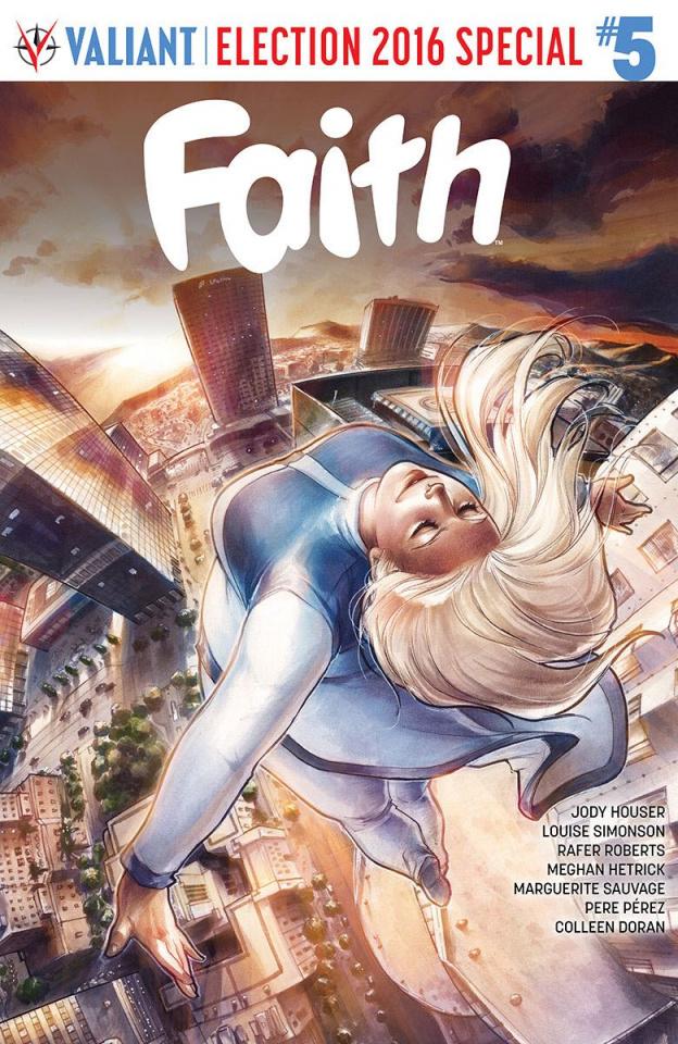 Faith #5 (Hetrick Cover)