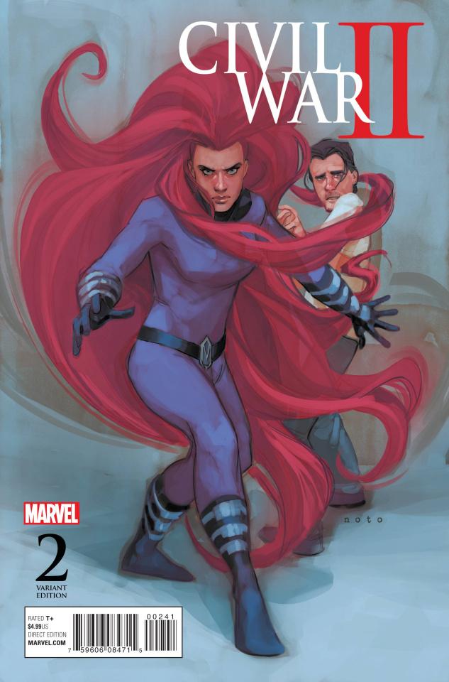 Civil War II #2 (Noto Character Cover)