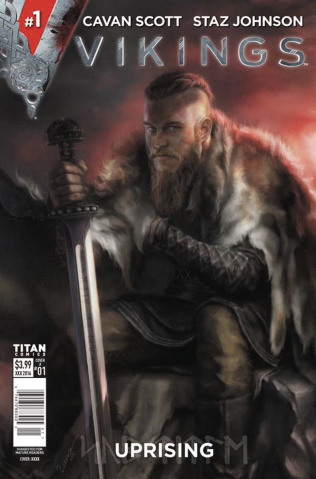 Vikings: Uprising #1 (Burns Cover)