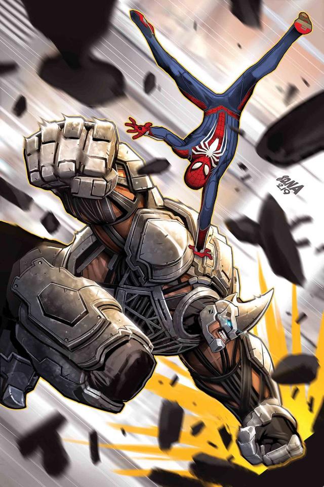 Spider-Man: City At War #4 (Nakayama Cover)