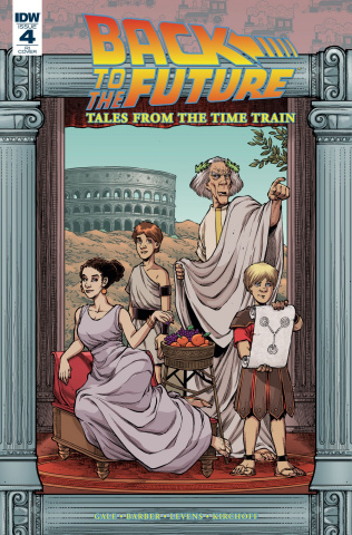 Back to the Future: Tales from the Time Train #4 (10 Copy Cover)