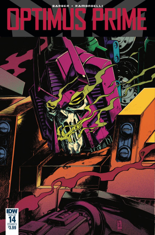 Optimus Prime #14 (Zama Cover)