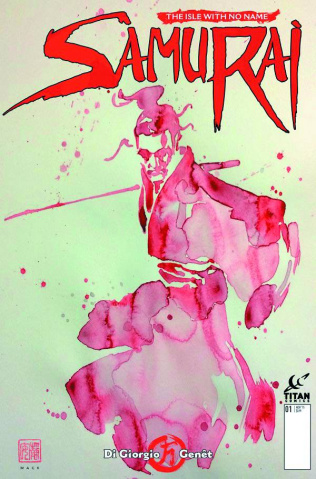 Samurai #1 (Mack Cover)