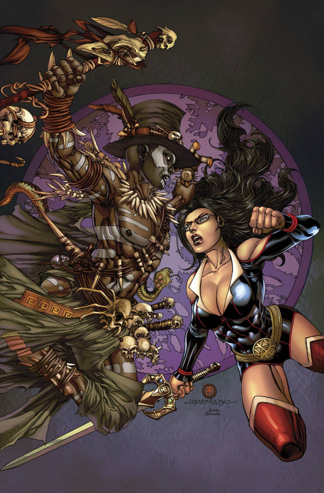 Grimm Fairy Tales #114 (Tolibao Cover)
