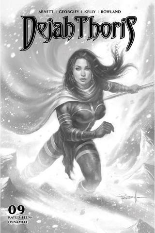 Dejah Thoris #9 (10 Copy Parrillo B&W Cover)