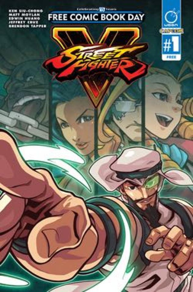 Street Fighter V #1 (FCBD 2016 Edition)