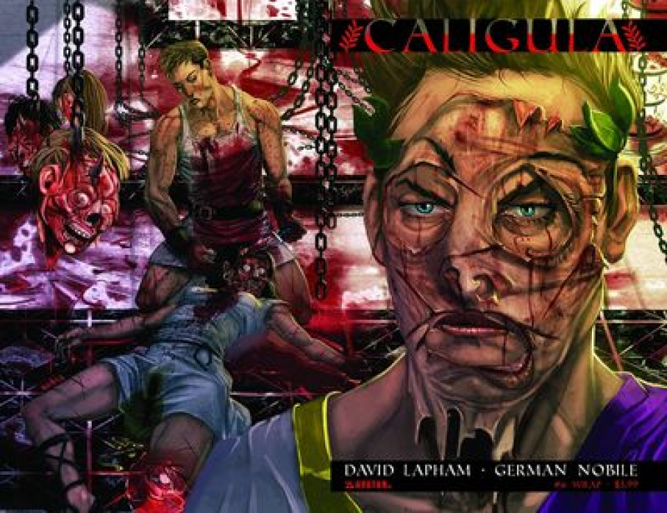 Caligula #6 (Wrap Cover)