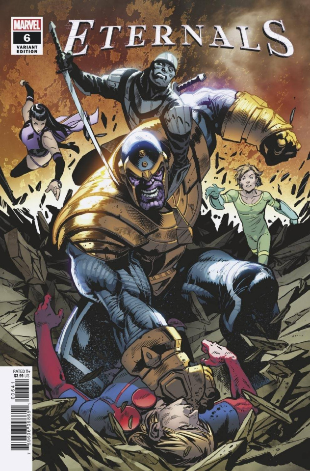 Eternals #6 (Shaw Cover)