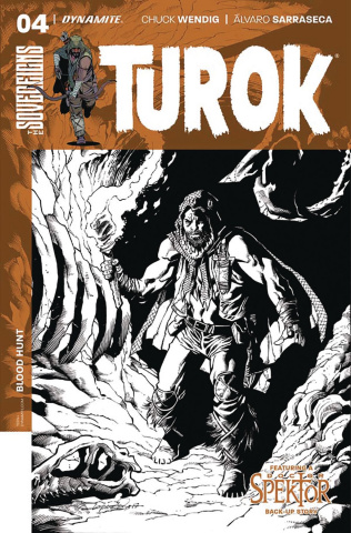 Turok #4 (20 Copy Lopresti B&W Cover)