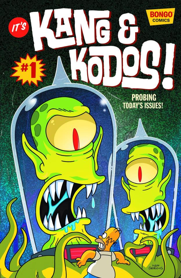 Kang & Kodos! #1