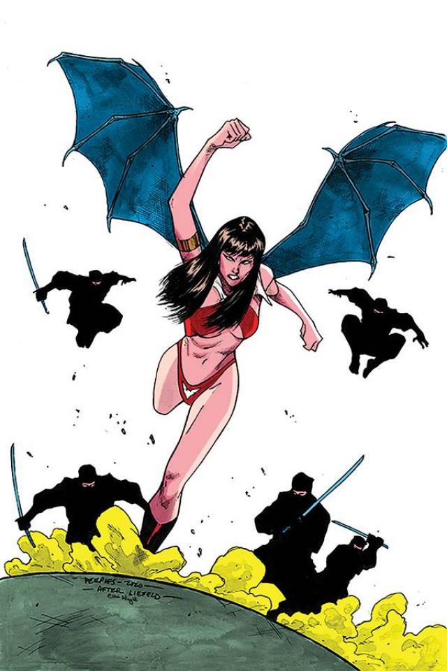 Vampirella #14 (Peeples Homage Virgin Cover)