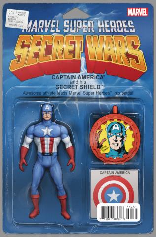 Secret Wars #4 (Christopher Action Figure Cover)
