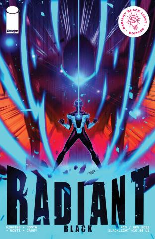 Radiant Black #10 (Blacklight Edition)