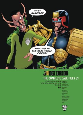 Judge Dredd: The Complete Case Files Vol. 33