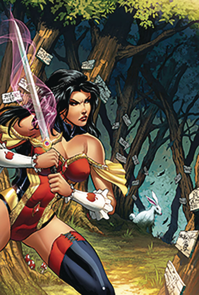 Grimm Fairy Tales #35 (Goh Cover)