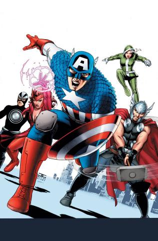 Uncanny Avengers #4 (Cassaday Cover)
