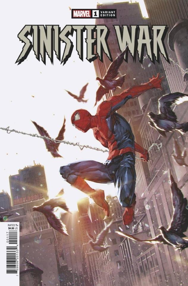 Sinister War #1 (Ngu Cover)