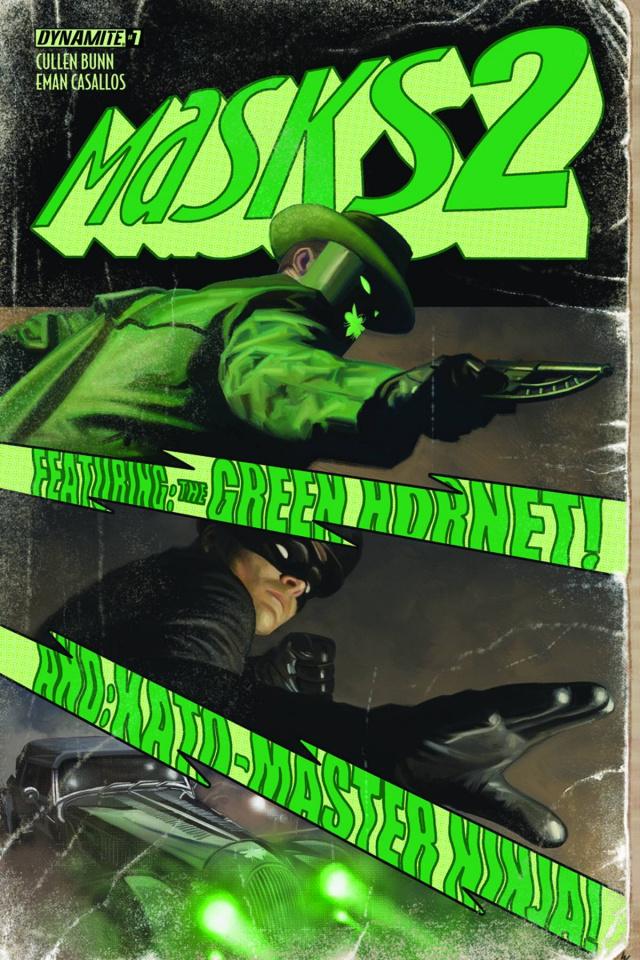 Masks 2 #7 (10 Copy Worley Hornet Cover)