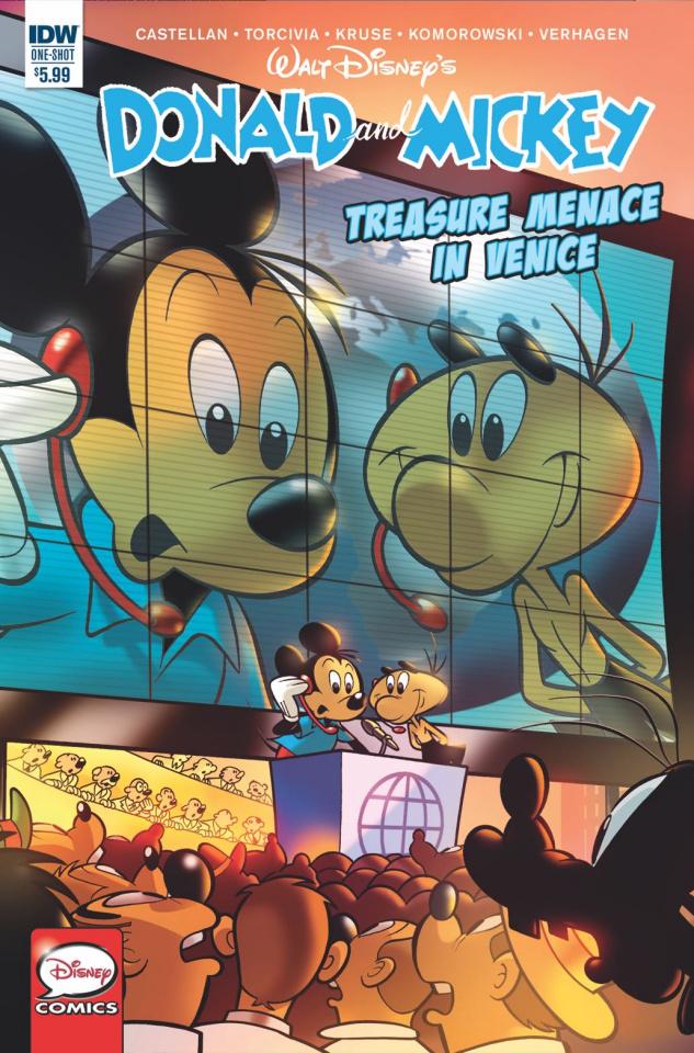 Donald and Mickey Quarterly Treasure: Menace in Venice (Cover B)