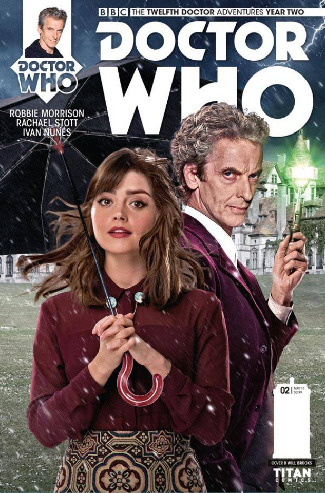 Doctor Who: New Adventures with the Twelfth Doctor, Year Two #2 (Brooks Subscription Photo Cover)