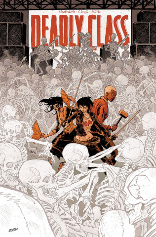 Deadly Class #29 (Level Cover)
