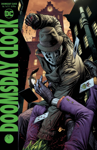 Doomsday Clock #7 (Variant Cover)