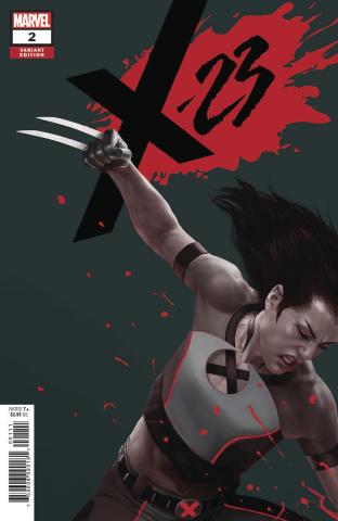 X-23 #2 (Rahzzah Cover)