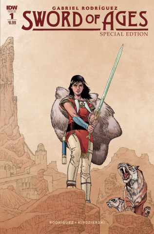 Sword of Ages Special Edition #1 (Rodriguez Cover)