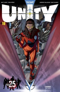 Unity #18 (25th Anniversary Sandoval Cover)
