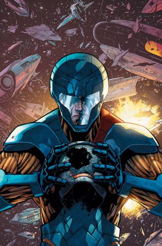 X-O Manowar #23 (Cafu Cover)