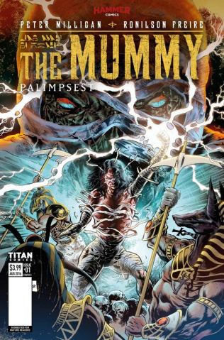 The Mummy #1 (Freire Cover)
