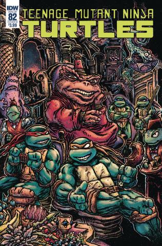 Teenage Mutant Ninja Turtles #82 (Eastman Cover)
