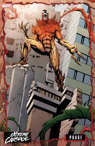 Extreme Carnage: Phage #1 (Johnson Connecting Cover)
