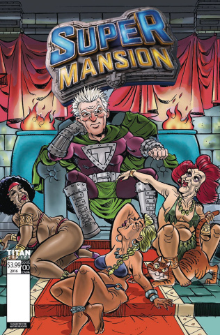 Supermansion #2 (Leon Cover)