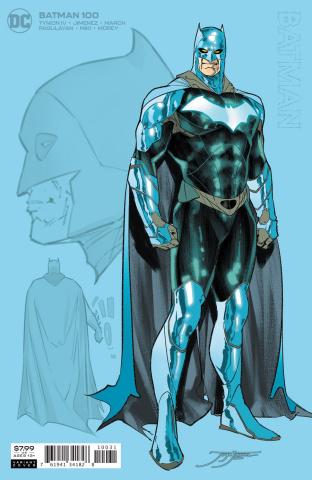Batman #100 (1:25 Jorge Jimenez Card Stock Cover)
