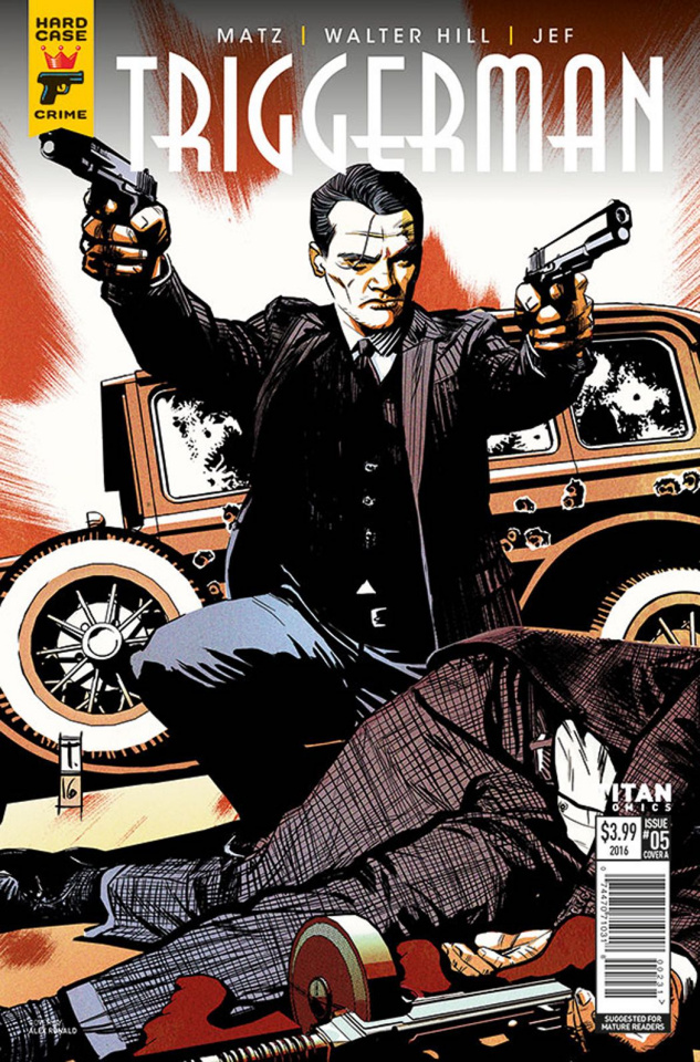 Hard Case Crime: Triggerman #5 (Coker Cover)